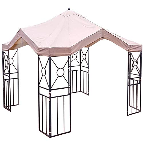 Garden Winds Replacement Canopy for Deluxe Pagoda Gazebo, RipLock 350 by Garden Winds (Image #3)
