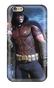 Hot Design Premium Tpu Case Cover Iphone 6 Protection Case(batman Arkham City Harley Quinn) by runtopwell