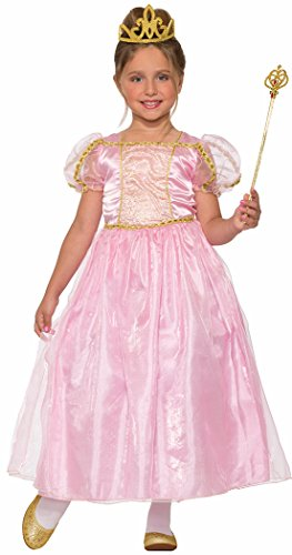 Girly Girl Costumes (Forum Novelties Girls Pink 'N' Pretty Princess Costume, Pink, Medium)