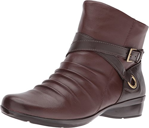 Naturalizer Women's Cycle Bridal Brown/Oxford Brown Leather Boot 7 M (B)