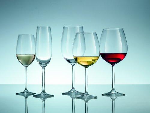Schott Zwiesel Tritan Crystal Glass Diva Stemware Collection Claret/Bordeaux Goblet, Red Wine Glass, 26-Ounce, Set of 6 by Schott Zwiesel (Image #2)'