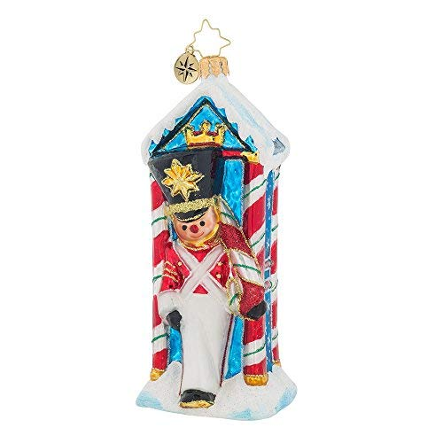 - Christopher Radko Candyland Outpost Nutcracker Christmas Ornament