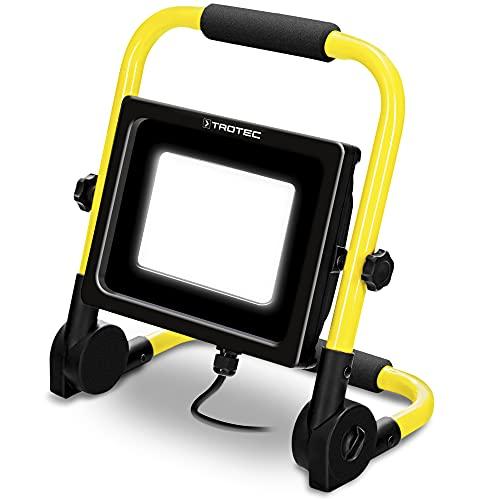 TROTEC LED-Baustrahler PWLS 10‑70 Baustellen Strahler Arbeitslicht Beleuchtung 6.300 lm tagesweißlicht