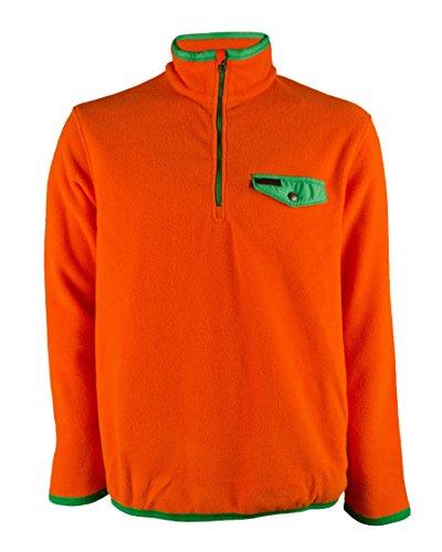 Polo Ralph Lauren Men's Long Sleeve Fleece Shirt (L, - Orange Ralph Lauren