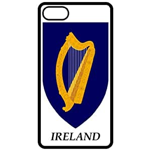 Ireland - Coat Of Arms Flag Emblem Black Apple Iphone 5 Cell Phone Case - Cover