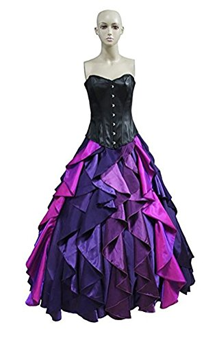 Halloween Women's The Little Mermaid Sea Witch Ursula Cosplay Costume Custom Made -