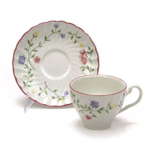 Summer Chintz by Johnson Brothers, China Cup & Saucer