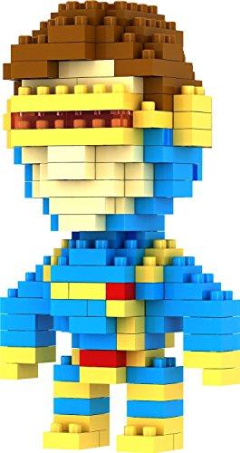 Gooband® LOZ Diamond Blocks Nanoblock X-Men Cyclops Educational Toy 150PCS