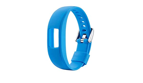 Amazon.com: Jewh [1Pcs] Smooth Silicone Replacement Wristband - Watch Band Strap for Garmin Vivofit4 - Smart Bracelet Band for Samsung Gear2 - Corlorful ...