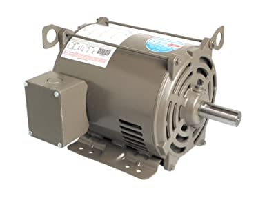 A.O. Smith E317 7-1/2 HP, 1800 RPM, 230/460 Volts, 213T Frame, ODP Enclosure General Purpose Three Phase Motor