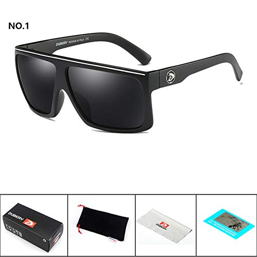 YEZIJIN DUBERY Men's Polarized Sunglasses Outdoor Driving Men Women Sport Glasses New by Yezijin_Sunglasses (Image #2)