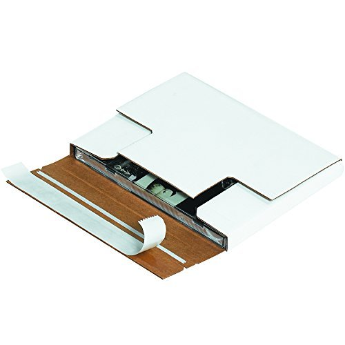 Tape Logic TLMM1001 Self-Seal CD Mailers 5 7/8 x 5 1/16 x 1/2 White (Pack of 200) [並行輸入品] B07B7C4SHJ