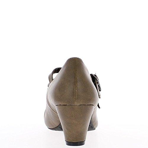 6cm Donna Tacco Nera Di Dimensione Grande Scarpe 6qfFafZ
