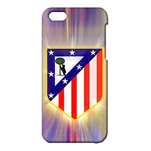 3D Atletico Madrid Phone Case for IPhone 5c , IPhone 5c 3D Atletico De Madrid FC Logo Cover Case Primera Division De Liga Classical Style