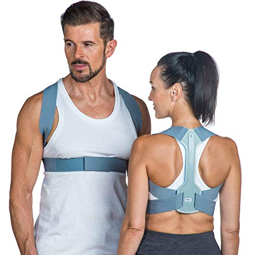 Back Posture Corrector for Women & Men–London Spine Clinic and FDA Approved | Adjustable Posture Brace Support | Improves Posture, Prevents Slouching & Relieves Pain (Large)