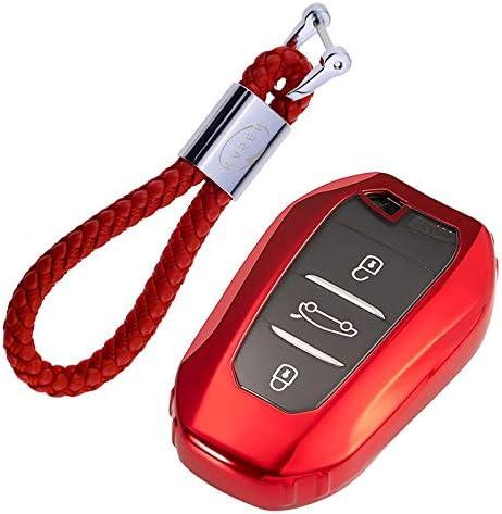 Kaser Autoschlüssel Hülle Für Peugeot Citroen Keyless Elektronik