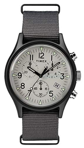 Timex Mens Chronograph Quartz Watch with Nylon Strap TW2T10900