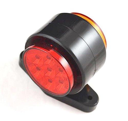 4/x rosso ambra lato Outline Marker luci lampade 24/V rimorchio furgone camion camper//roulotte Chassis pickup