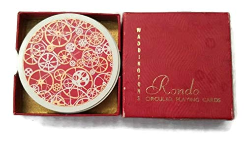 Waddingtons Rondo Circular Playing Cards (1950's Vintage) for sale  Delivered anywhere in USA