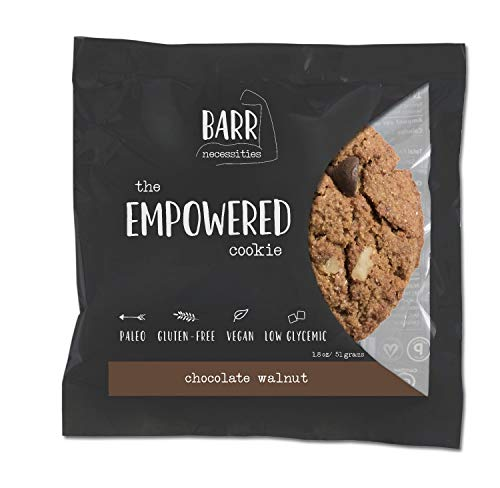 Chocolate Walnut, 12 Pk Gluten Free Cookie, Paleo Cookie, Vegan Cookie, The Empowered Cookie