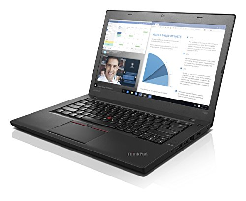 Lenovo T460 Ultrabook 20FN002VUS (14' Display, Intel i7-6600U 2.6GHz, 8GB RAM, 256GB SSD, Webcam, Backlit Keyboard, Fingerprint Reader, Windows 7 Pro 64)