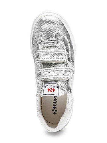 Superga Saison Kids, Sneaker bambine Argento argento