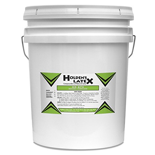 HX-874 Natural Liquid Latex Mold Making Rubber (Five Gallons) by Holden's Latex (Image #1)