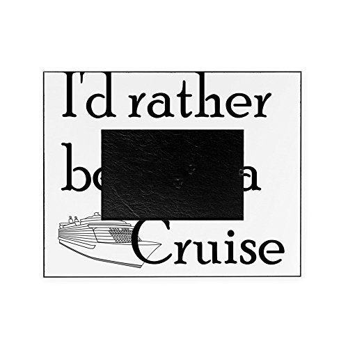 CafePress - Id Rather Cruise - Decorative 8x10 Picture Frame