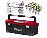 Craftsman Power Latch Tool Box With Slotted Phillips Screwdriver And Plier Sets