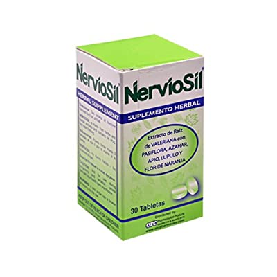 Neviosil Herbal Tablets - Herbal Supplement Specialy Formulated for the Nerves - Tension - Anxiety
