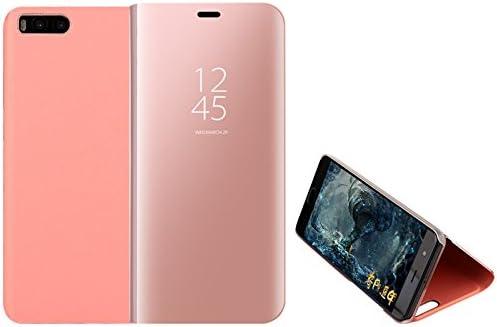 Funda® Espejo Enchapado Flip Xiaomi Mi Note 3 (Oro Rosa): Amazon ...