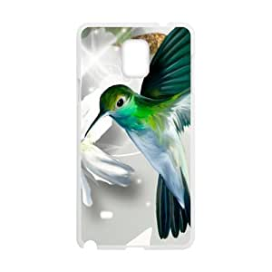 Canting_Good Hummingbird Custom Case Shell Cover for SamSung Galaxy Note4 (Laser Technology)