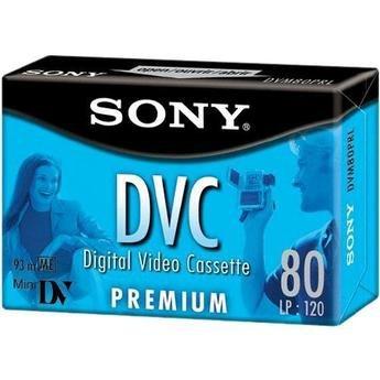 Sony Premium-Grade miniDV Videocassette - Single