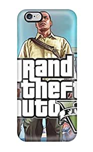 Awesome Case Cover/iphone 6 Plus Defender Case Cover(gta V)(3D PC Soft Case)