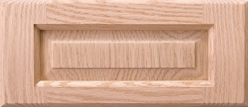 Cabinet Doors 'N' More 13'' x 6'' Unfinished Red Oak Raised Panel Kitchen Drawer Front by Cabinet Doors 'N' More