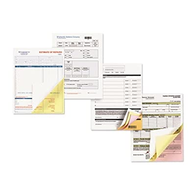 Xerox 3R12850 Carbonless Paper, 2-Part Reverse/Straight, 8-1/2 x 11, Canary/White, 2500 Sets