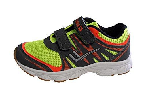 Killtec 30336-725 - Zapatillas de running de Material Sintético para niña verde neón