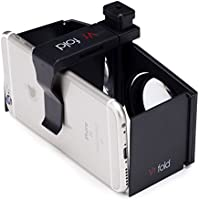 Domo Vr3 Vr Fold 3D Video Headset & Universal Virtual Reality 3D For Smart Phones Upto 6.5 Screen - Inspired By