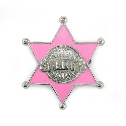 [Forum Novelties Deluxe Cowgirl Sheriff Badge] (Sheriff Costume Women)
