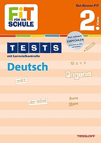 Deutsch 2. Klasse (Fit für die Schule)