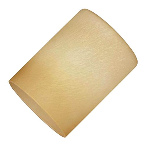 - Westinghouse 8101500 Handblown Harvest Cylinder Shade, Amber