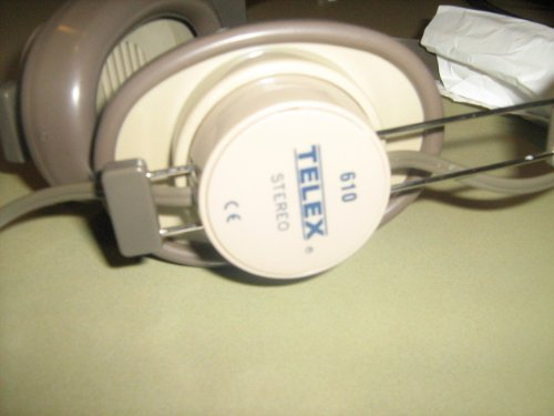 (Telex Stereo 610 Headphones Earphones)