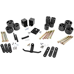 Rough Country - RC610 - 2-inch Body Lift Kit for Jeep: 87-95 Wrangler YJ 4WD