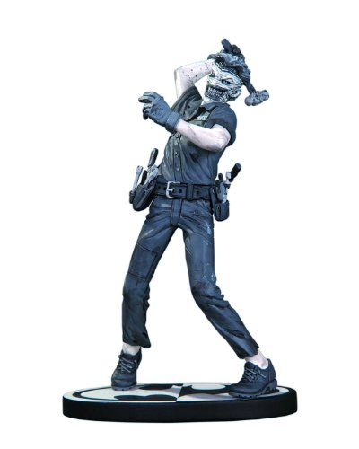 DC Collectibles Batman Black and White The Joker Statue