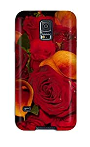 Snap-on Case Designed For Galaxy S5- Fall Flowers