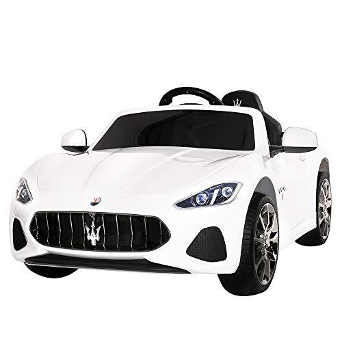 Uenjoy Maserati Grancabrio 12V Electric Kids Ride On Cars Motorized Vehicles W/Remote Control, Suspension, Mp3 Player, Light, -