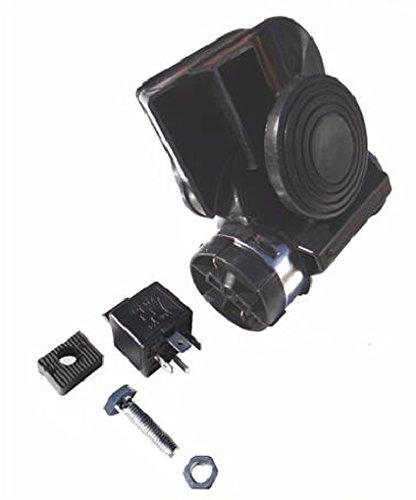 (Viking Horns V613B Loud 139 Decibels Compact Air Horn in Black Color)