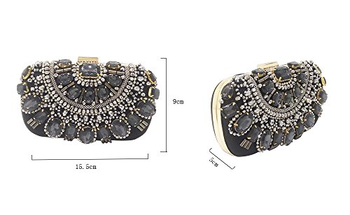 Silver Bridal Bags Clutches Metal Beaded Handbags Beaded Purse Purple Wedding Bag Evening qgw4CCYxI