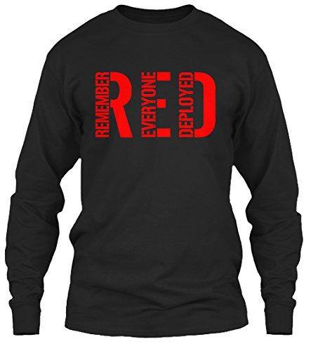 Teespring Red Friday - Unisex - Medium - Black - 100% preshrunk cotton - Long Sleeved Shirt