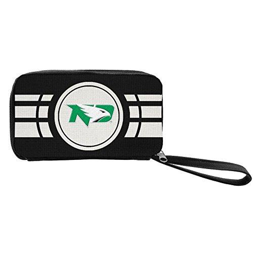 Littlearth NCAA North Dakota Fighting Sioux Ripple Zip Wallet]()